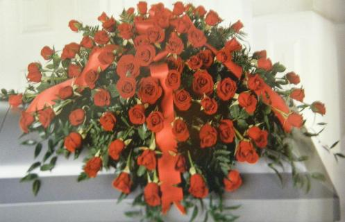 In Loving Memory Red Roses