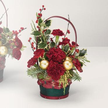 Small Yuletide Greetings Basket