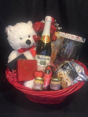 Girls Night Out Snack Basket