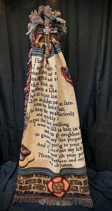 Firefighters Prayer Tapestry