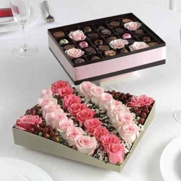 Chocolate Box Centerpiece