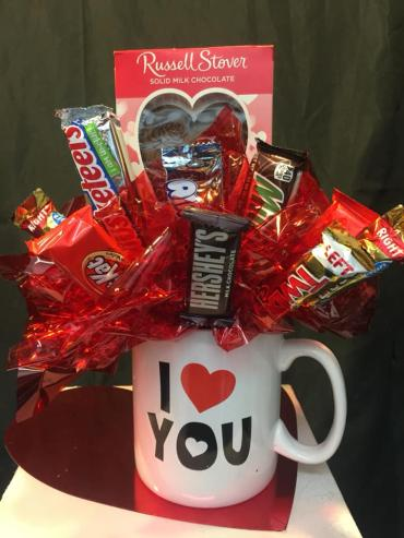 Candy Bouquet Large Mug