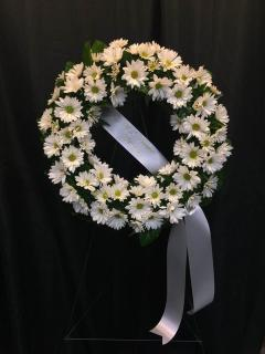 Daisy Sympathy Wreath